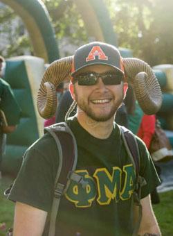 CSU Anthropology Alumnus Zane Bamesberger