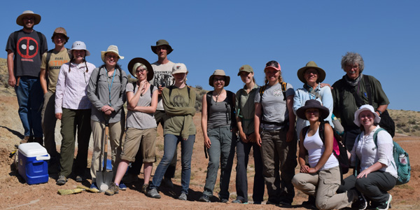 Paleontology Field School 2016