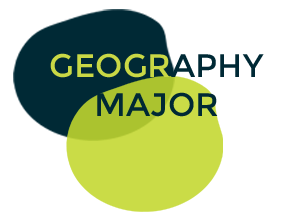 Undergraduate Programs Geography Major Logo Button