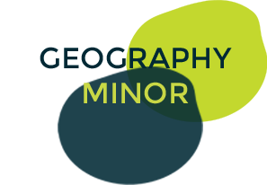 Undergraduate Programs Geography Minor Logo Button