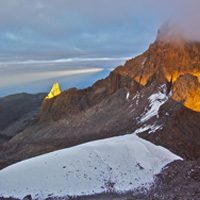 Batian Peak on Mt. Kenya (Source: Stefan Leitner/Flickr).