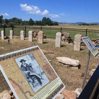 Cemetery in Loveland, CO - Medano Family