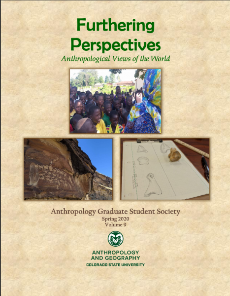 Cover of Furthering Perspectives, Spring 2020 volume